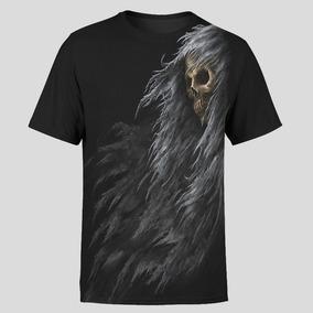Camiseta Basica Caveira Alma Dementadores Harry Potter