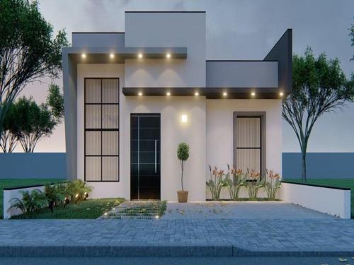 Casa Com 2 Dormitórios À Venda, 72 M² Por R$ 310.000 - Condomínio Terras De São Francisco - Sorocaba/sp - Ca0067 - 67640909