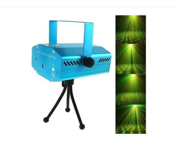 Mini Projetor Holográfico Canhão Laser Decoração Festas