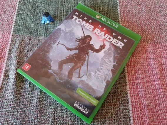 Xbox One Rise Of The Tomb Raider Edition Orig Midia Física