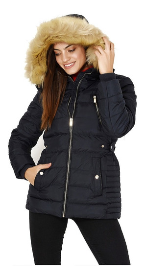 Campera Rompeviento Impermeable Piel Mujer Nieve Sky Nofret