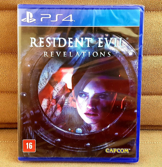 Ps4 Resident Evil : Revelations ( Mídia Física ) Lacrado