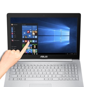 Asus Zenbook Pro 15.6 4k Touch I7-6700hq 16gb 512ssd Gtx960m