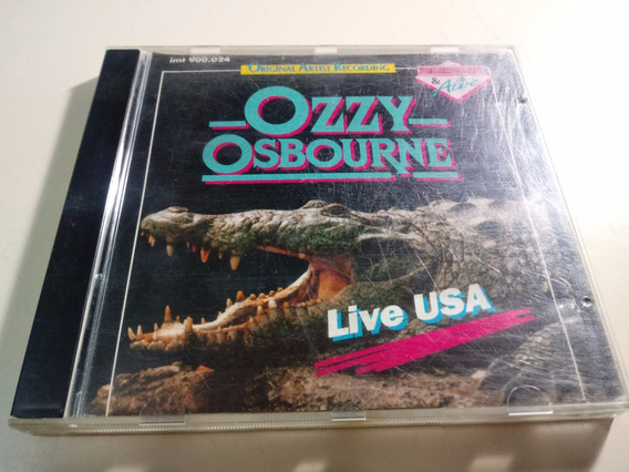 Ozzy Osbourne - Live Usa 1982 - Made In Eu.