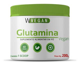 Glutamina 200g 200 Gramas Vegan Wvegan