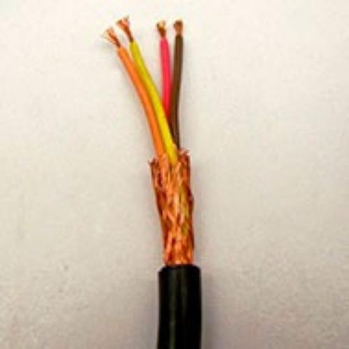 Imagem 1 de 4 de Cabo Manga 4x22awg Blindado Em Trança (50 Metros)