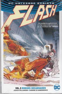 Comic Universo Rebirth Flash Volumen 3 Rogues Recargados
