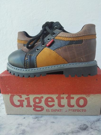 Zapato Bota Gigetto Niño Talla 25 Oferta