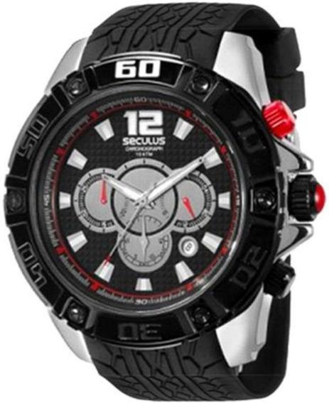 Relógio Seculus Masculino 69501gpsspu1 - Revenda Autorizada