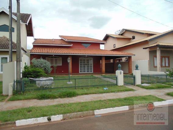Casa Residencial À Venda, Portal Dos Pássaros, Boituva. - Ca1636