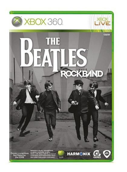 The Beatles Rock Band - Xbox 360 - Usado - Original