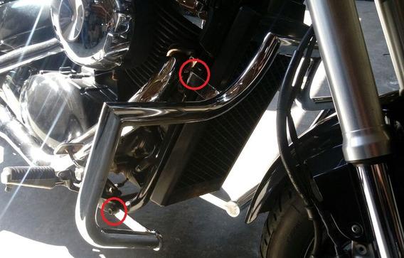 Protetor Motor Mata Cachorro Cromado Boulevard M800