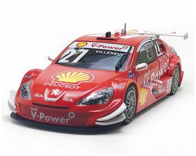 Peugeot 408 Stock Car 27 Jacques Villeneuve Escala 1/43