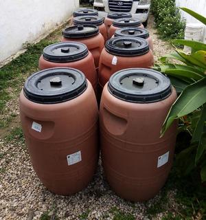 Tambores Plasticos Lecheros De 230 Lts