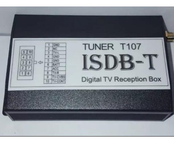 Receptor Módulo Tv Box Digital Isdb-t Tuner 107 Veicular