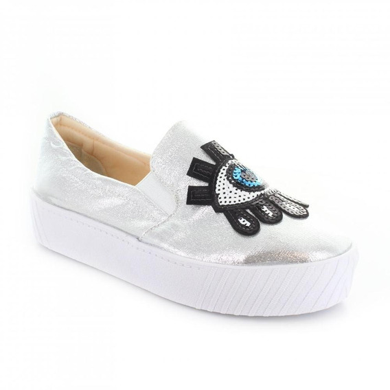 Tenis Para Mujer Redberry 8013-047763 Color Plata