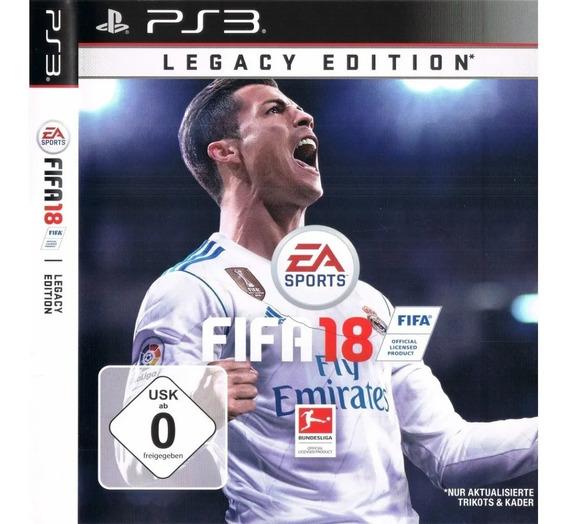 Fifa 18 Ps3 Dublado Jogo Fifa 18 Play 3 Fifa Playstation 3