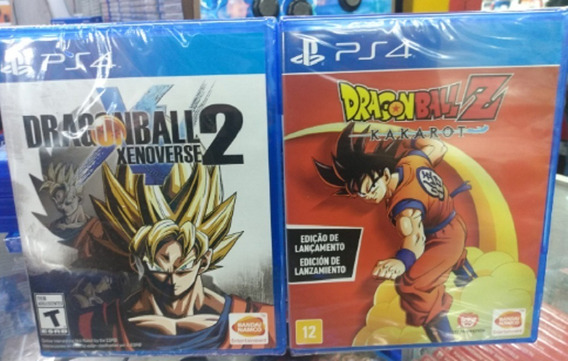 Dragon Ball Z Kakarot + Dragon Ball Xenoverse 2 Ps4 Lacrado