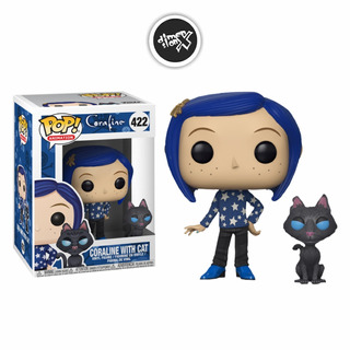 Funko Pop Coraline With Cat Buddy