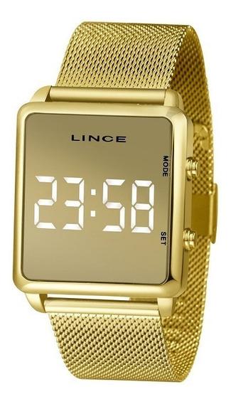 Relógio Lince Dourado Mdg4619l Bxkx C/ Nf-e