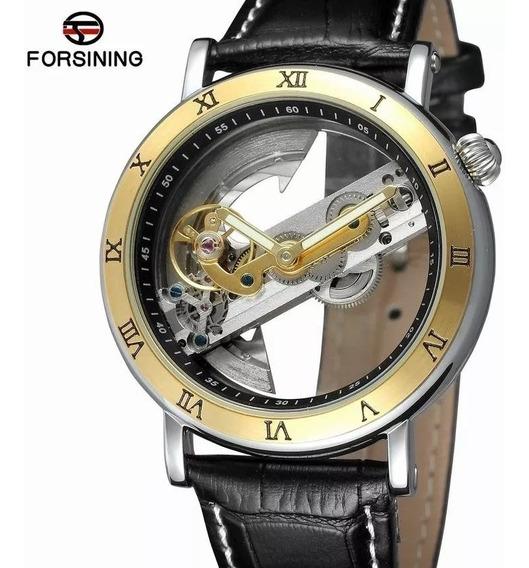 Relógio Forsining Automático Com Deifeito +caixa +rel. Skmei