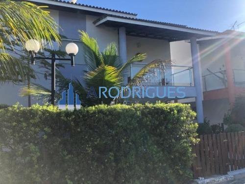 Imagem 1 de 11 de Excelente Casa À Venda Com 4 Suítes E Nascente No Condomínio Moradas Do Joanes - Lauro De Freitas Ba - Ca00499