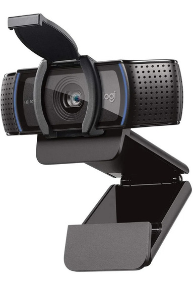 Webcam Logitech C920s Pro Hd Full Hd 1080p Tampa Privacidade