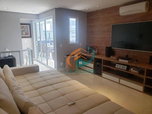 Cobertura Com 2 Dormitórios À Venda, 160 M² Por R$ 645.000,00 - Jardim Tijuco - Guarulhos/sp - Co0045