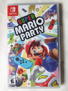 Super Mario Party - Para Nintendo Switch - Nuevo, Sin Abrir