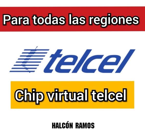 Internet Chip Turbo Sim Telcel (halcon Ramos)