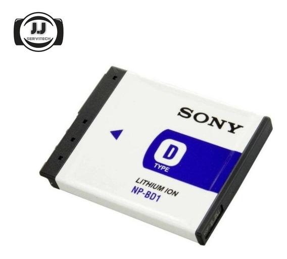 Bateria Pila Cámara Cybershot Sony Np-bd1 Npbd1 Original