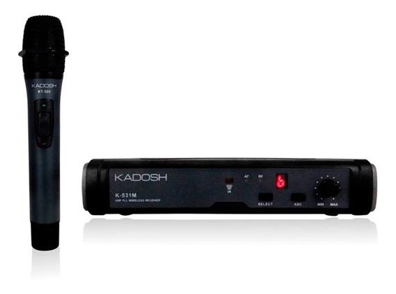 Microfone Sem Fio Kadosh K-531m