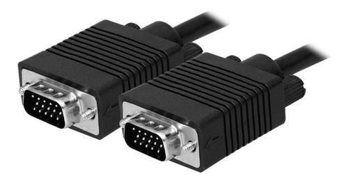 Cable Vga A Vga Para Monitor Lcd Con Doble Ferrite X 6mts