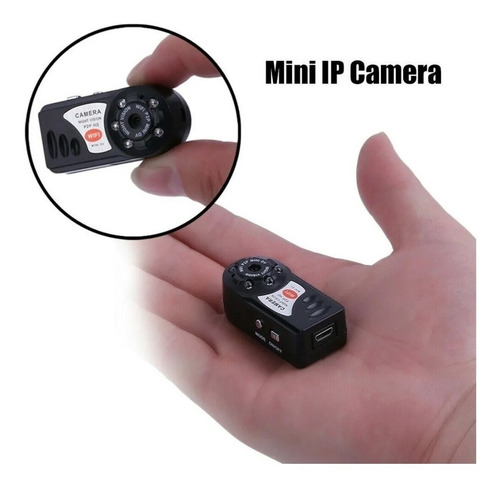 Mini Camara Espia Q7 Wifi Local Vision Nocturna Hd 1080p