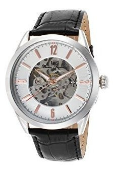 Lucien Piccard Lp-10660a-02s-ra Loft Reloj Automático De Ace