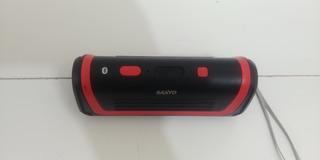 Parlante Bluetooth Sanyo Bth8 Sonido Estéreo Y Subwoofer