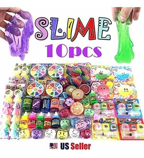 Slime Assorted 10pcs Jelly Pudding Monster Soft Squeeze