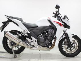 Honda Cb 500 F Abs 2014 Branca
