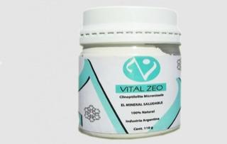 Vital Zeo Zeolita Clinoptilolita Micronizada Activada 3 U