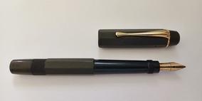 Caneta Tinteiro Montblanc Safety Pen «stoffhaas» 14k L E I A