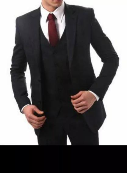 Terno Slim + Camisa + Gravata Frete Grátis