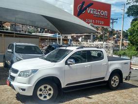 Chevrolet S10 2.8 Ltz Cab. Dupla 4x4 Automatica 2013 Branca