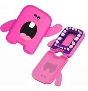 Dental Álbum Pink Estojo Para Guardar Os Dentes De Leite