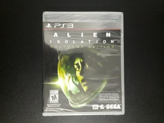 Alien Isolation Nostromo Edition Ps3 Lacrado Importado