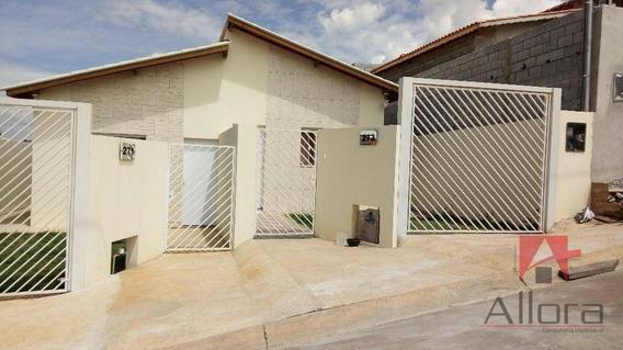 Casa Térrea Nova 3 Dorms. Residencial À Venda, Campos Olivotti, Extrema. - Ca0750