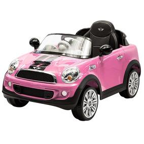 Auto Eléctrico Mini Cooper Cp Rosa 6v