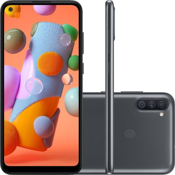 Smartphone Samsung Galaxy A11 Preto 64gb 3gb Ram Tela 6.4