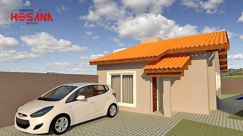 Casa Com 3 Dormitórios À Venda, 86 M² Por R$ 390.000,00 - Nova Atibaia - Atibaia/sp - Ca0764