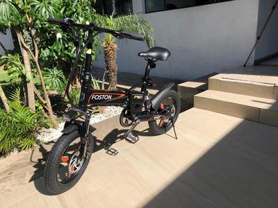 Bicicleta Eléctrica Y Mecánica Foston