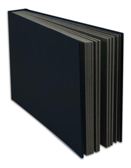 Álbum Especial Preto, Autocolante Para 40 Fotos 20x30 4pr